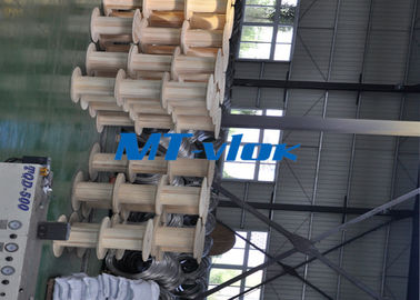 Small Diameter Marine Multi core coiled steel tubing S31603 / S30403