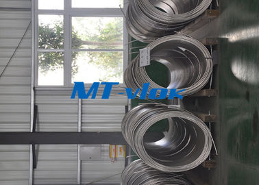 चीन ASTM A213 / A269 S30400 / S31600 Stainless Steel Coiled Tubing / Stainless Steel Coil Pipe फैक्टरी