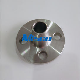 चीन 300LB S31803 / S32750 / S32760 Duplex Steel Weld Neck Flange For Connection फैक्टरी