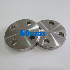 चीन ASTM A182 F51 / F53 Flanges Pipe Fittings , Duplex Steel Blind Flange For Hydraulic Tube फैक्टरी