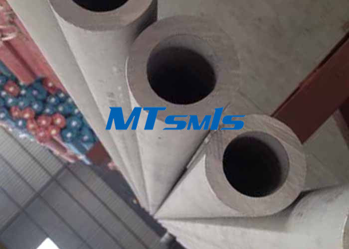 DN150 Stainless Steel Seamless Pipe S34700 / S34709 Industrial Welding Round Tube आपूर्तिकर्ता