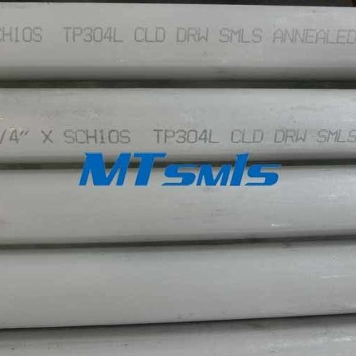 ASTM A312 Stainless Steel Seamless Pipe TP304L Annealed Pickling
